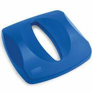 FG269000BLUE LID UNTOUCHABLE PAPER RECYCLE TOP FOR BLUE 4/CASE