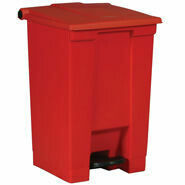 1883568 #6145R RED STEP ON CONTAINER 18GAL