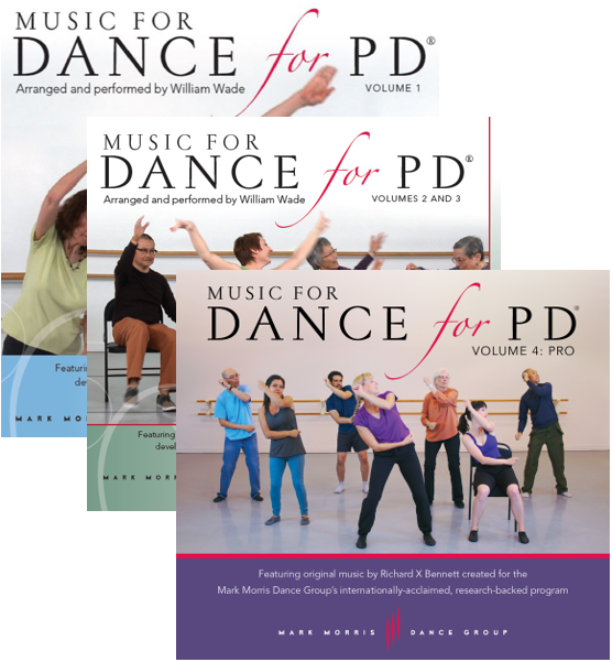 Music for Dance for PD® Full Collection (4 albums via download)