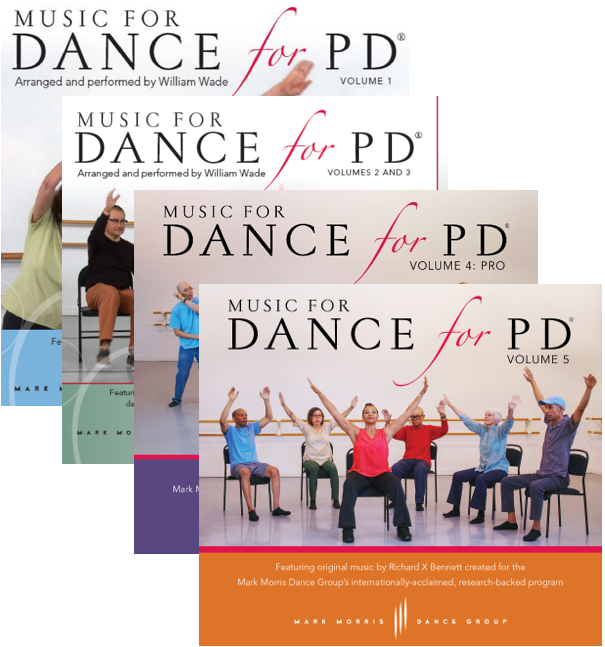 Music for Dance for PD® Full Collection (5 albums via download)