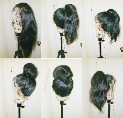 Body wave 360 custom made wig