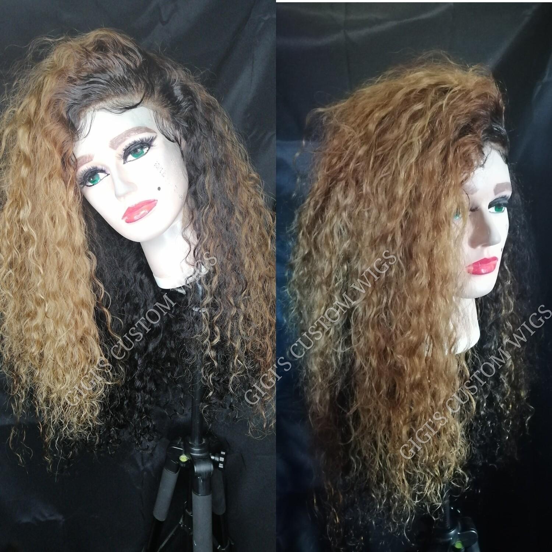 Sheila 24 inches curly custom unit