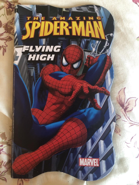 Spider Man Flying High