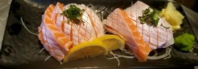 Salmon Toro Sashimi