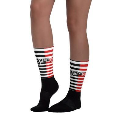 Red Stripe Socks