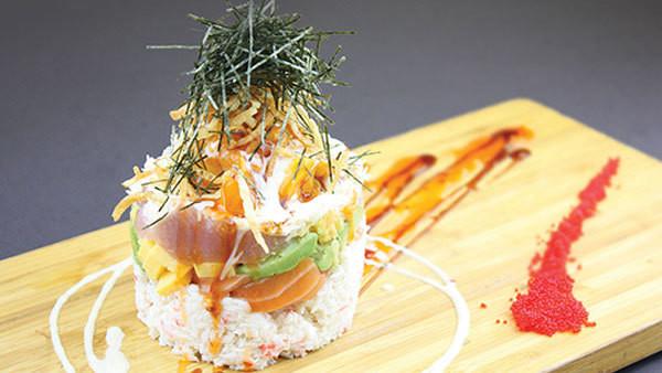 Asa Mango Tower Sashimi