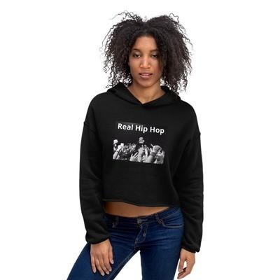 Real Hip Hop Crop Hoodie