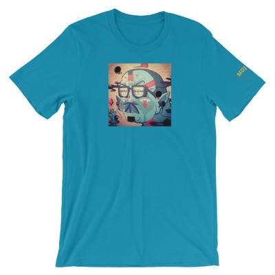 LV Graffiti Bella + Canvas 3001 Unisex Short Sleeve Jersey T-Shirt with Tear Away Label