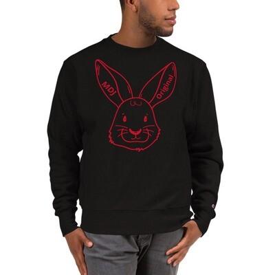 """MDJoriginal """"The Rabbit""""  Champion Sweatshirt"""
