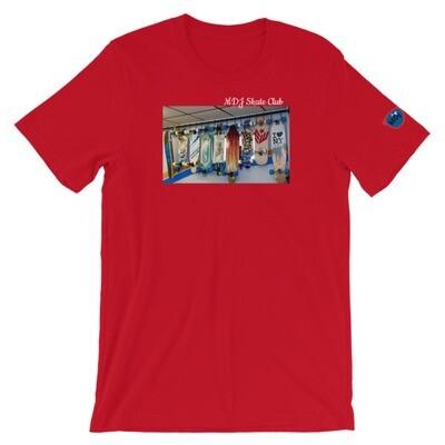 "MDJoriginal ""Skate Club Tee"" Short-Sleeve Unisex T-Shirt"