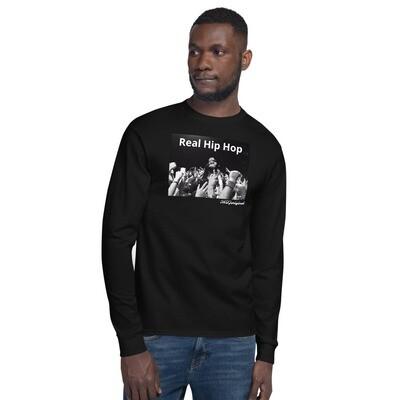 Real Hip Hop Men's Champion Long Sleeve Shirt