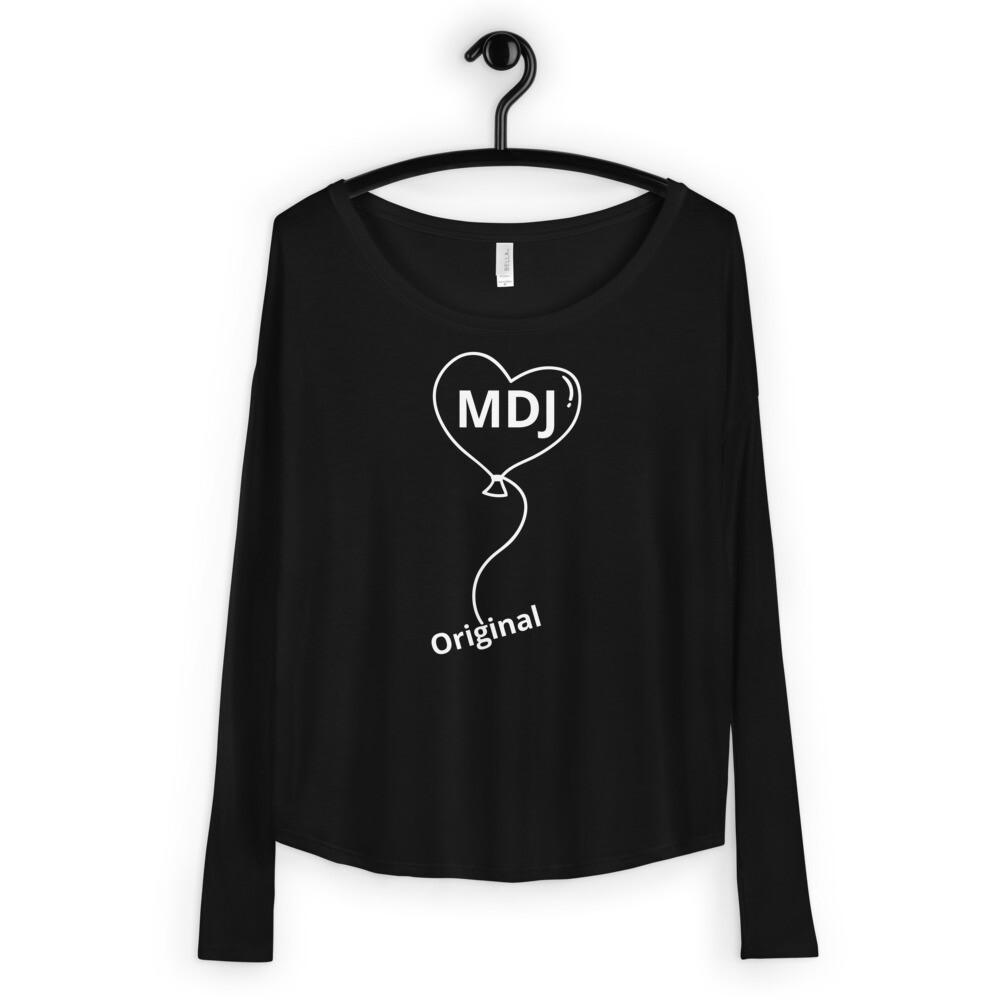 MDJ original Love  Ladies' Long Sleeve Tee