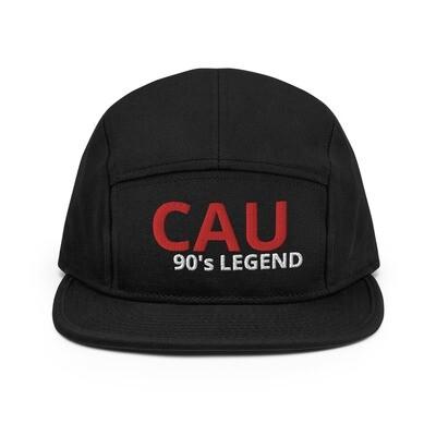 90's Legend embroidery 5 Panel Camper Hat