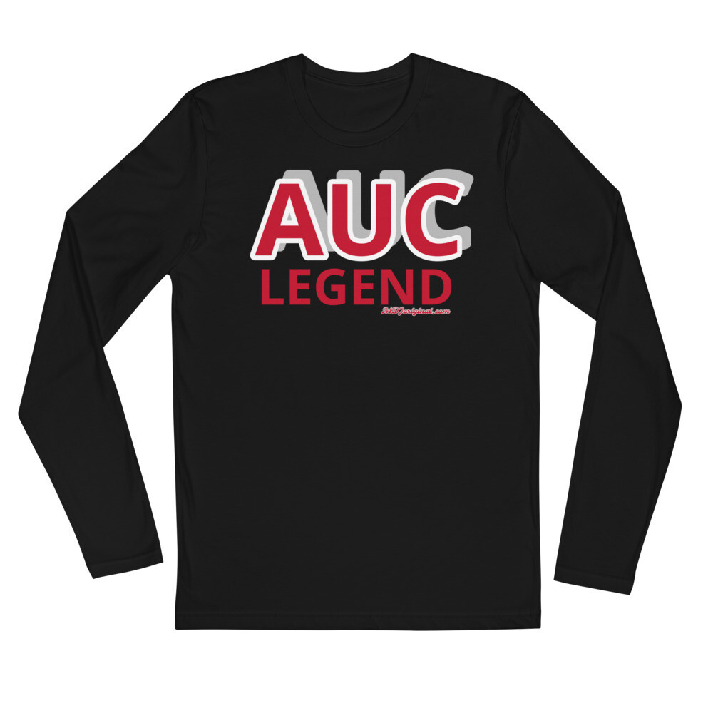 AUC Legend Long Sleeve Fitted Crew