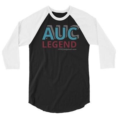 AUC Legend 3/4 sleeve raglan shirt