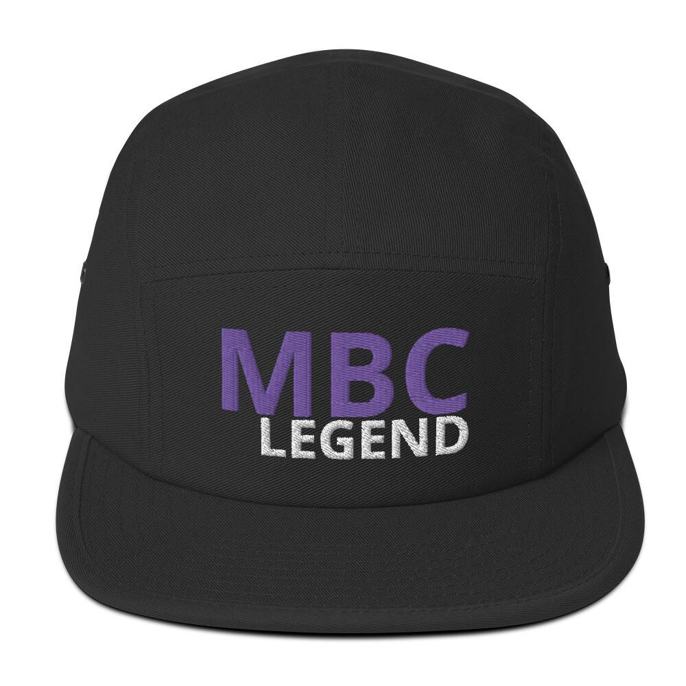 MBC Legend light Five Panel Cap