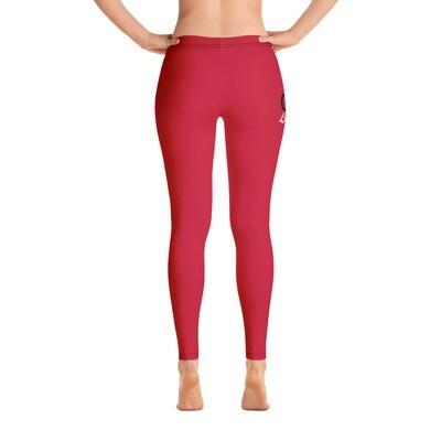 CAU Legend Red All-Over Print Leggings