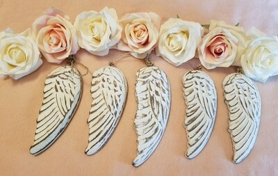 Angel wings wooden (hand crafted)