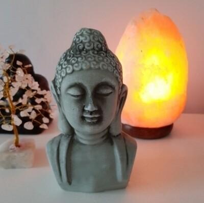 Buddha ornament (grey)