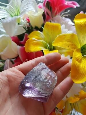 Fluorite natural crystals