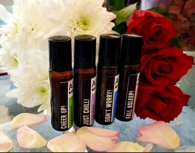 Essential oils blends roll on (see description)