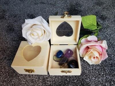 Wooden storage box (small)