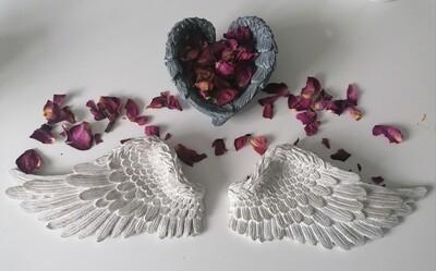 Angel wings (resin)