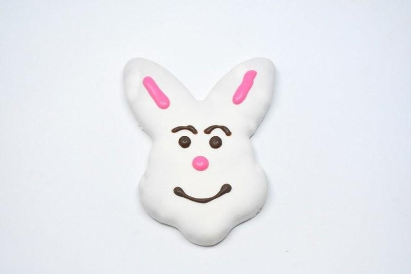 Bunny Head Cookie