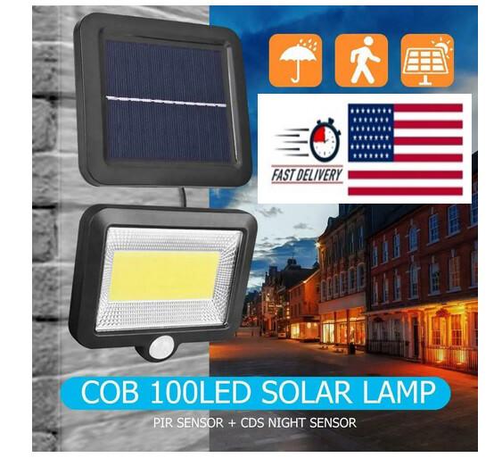 Outdoor 100LED IP65 Solar Lamp