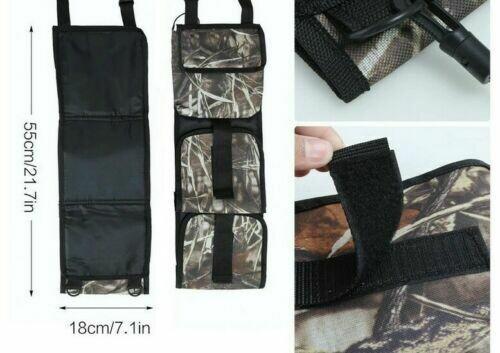 Tactical Gun Case for Car Front Seat Back Pocket Hang Bags