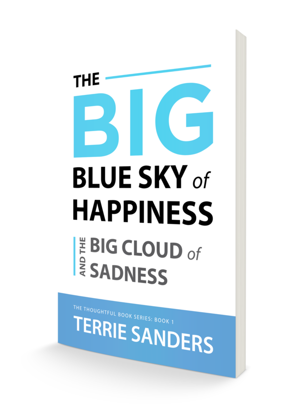 ADULT VERSION Book 1: The Big Blue Sky of Happiness & The Big Cloud of Sadness  COMING SOON.  Read more...