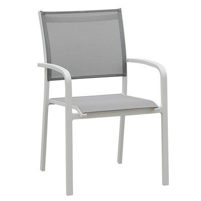 Sling Aluminum Stackable Dining Chair