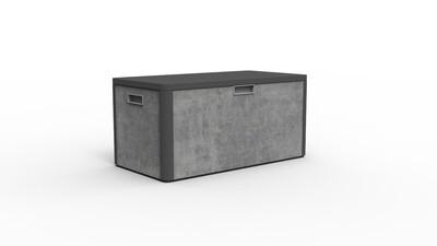 Modern Aluminum PVC-board Outdoor Garden Cabinet