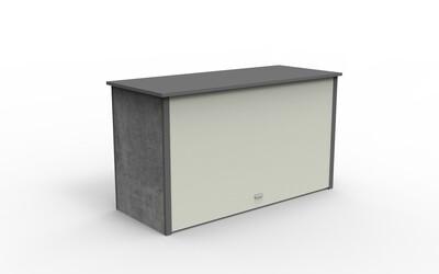 Aluminum PVC-board Outdoor Garden Cabinet