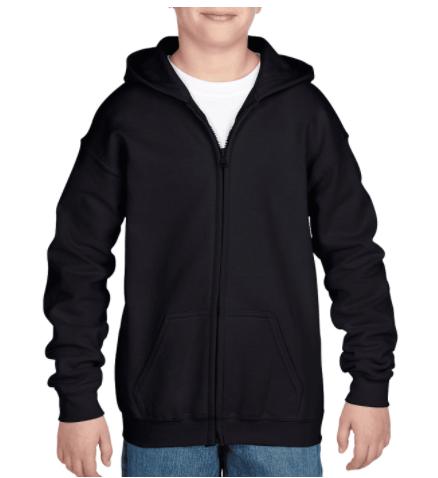Gildan - Youth Heavy Blend™ 8 oz., 50/50 Full-Zip Hood