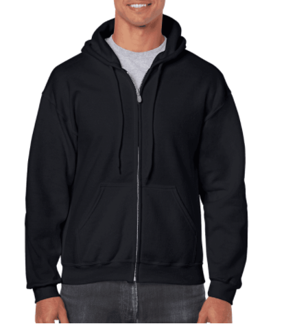 Gildan - Adult Heavy Blend™ 13.3 oz./lin. yd., 50/50 Full-Zip Hood
