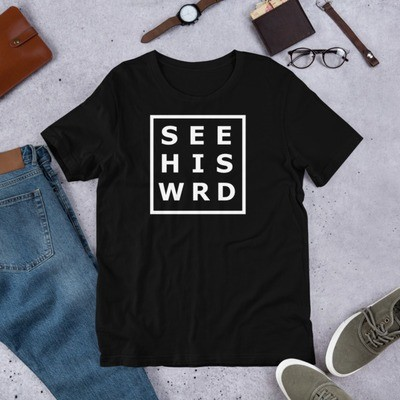 WHT SEE WRD Short-Sleeve Unisex T-Shirt