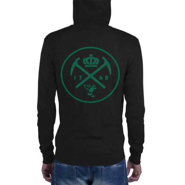 CLT Unisex zip hoodie