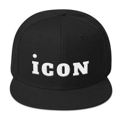 iCON WHT Snapback Hat