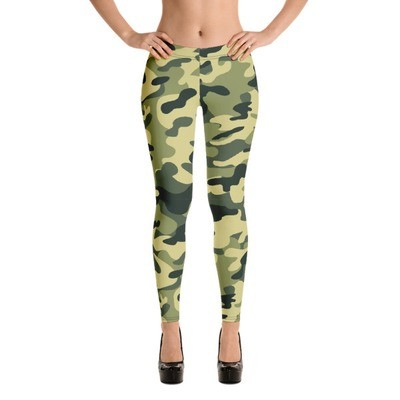 WMN Camouflage All-Over Print Leggings