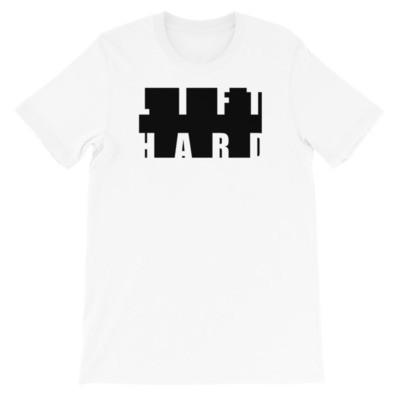 LIFT HARD Short-Sleeve Unisex T-Shirt