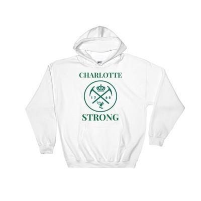 Hooded CHARLOTTE STRONG Sweatshirt