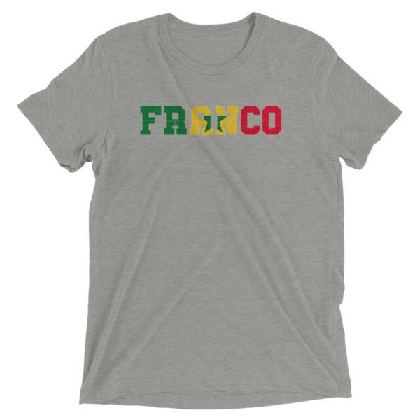 FRANCO SENEGAL Short sleeve t-shirt