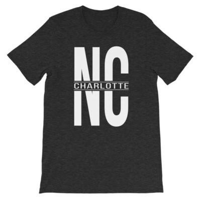 NC CHARLOTTE Short-Sleeve Unisex T-Shirt