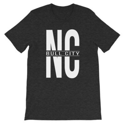 BULL CITY NC Short-Sleeve Unisex T-Shirt
