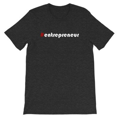 #Entrepreneur Short-Sleeve Unisex T-Shirt