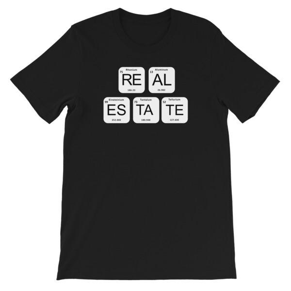 REAL ESTATE ELEMENTS Short-Sleeve Unisex T-Shirt