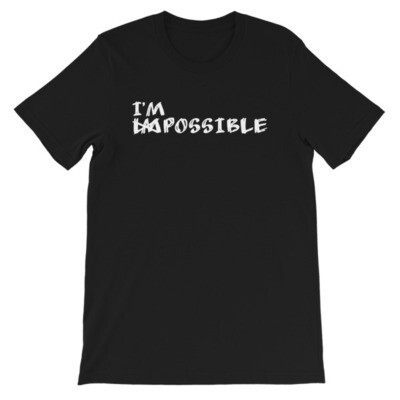 IM POSSIBLE Short-Sleeve Unisex T-Shirt