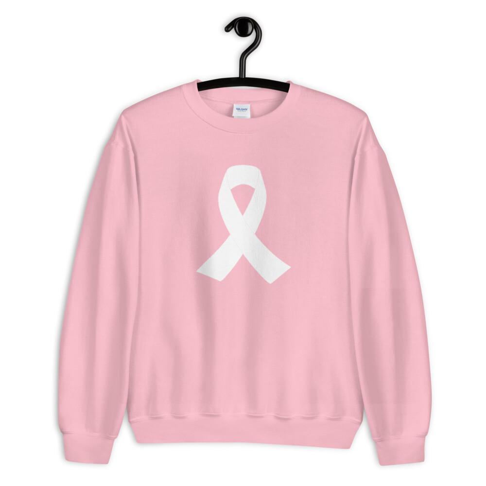 Breast Cancer Ribbon Unisex Sweatshirt