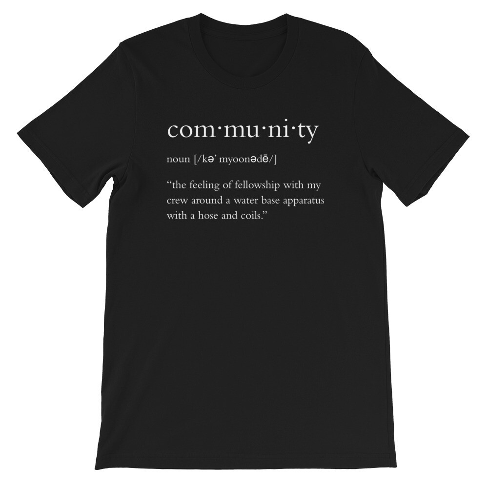 Community Definition Unisex T-Shirt
